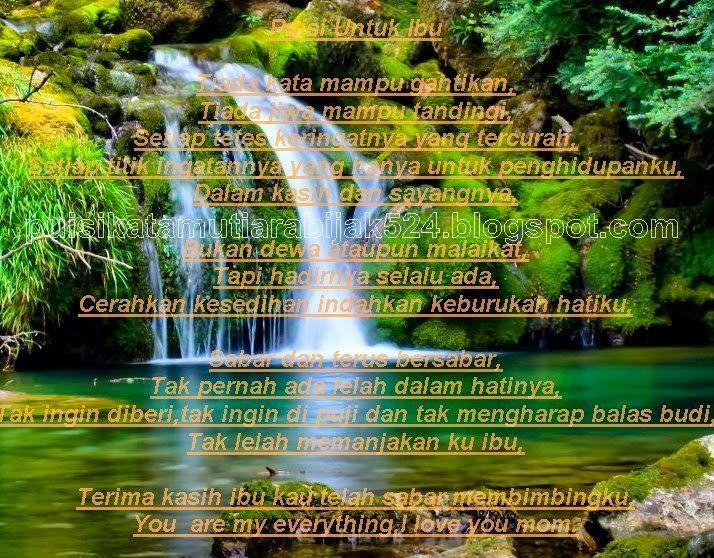 Kata Kata Puisi Selamat Hari Ibu Source Https