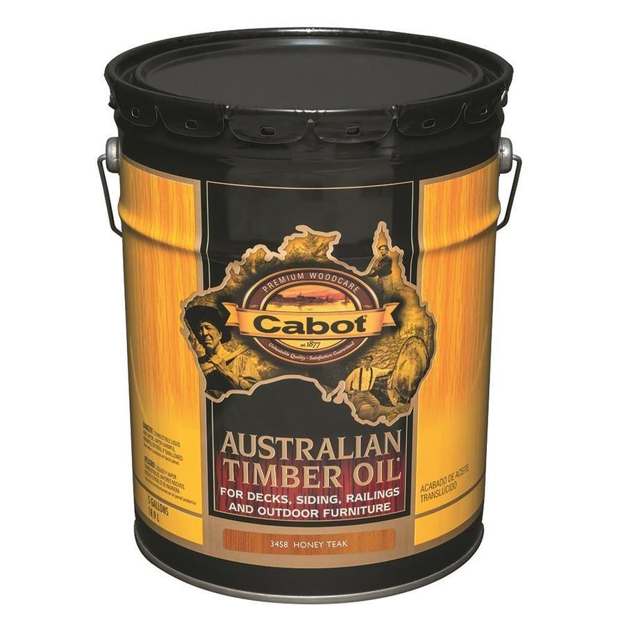 Cabot Pre-Tinted Honey Teak Transparent Exterior Wood