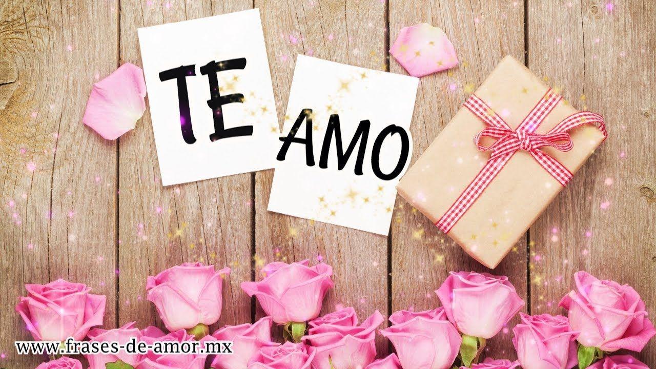 Mensaje De Amor Para Ti Te Amo Te Extraño Te Necesito
