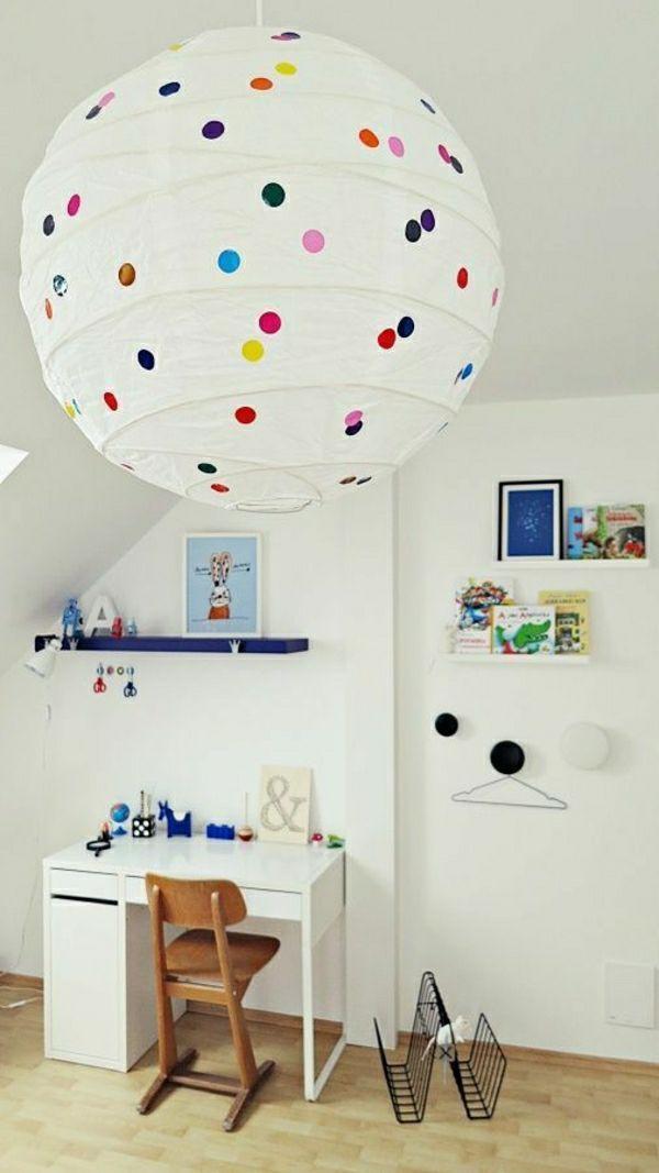 Papier Lampenschirm Lasst Das Zimmer Grossartiger Erscheinen Ikea Hacken Kinder Kinderzimmer Dekor Ikea Lampen