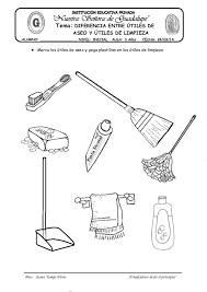 Articulos De Limpieza Para Colorear Buscar Con Google