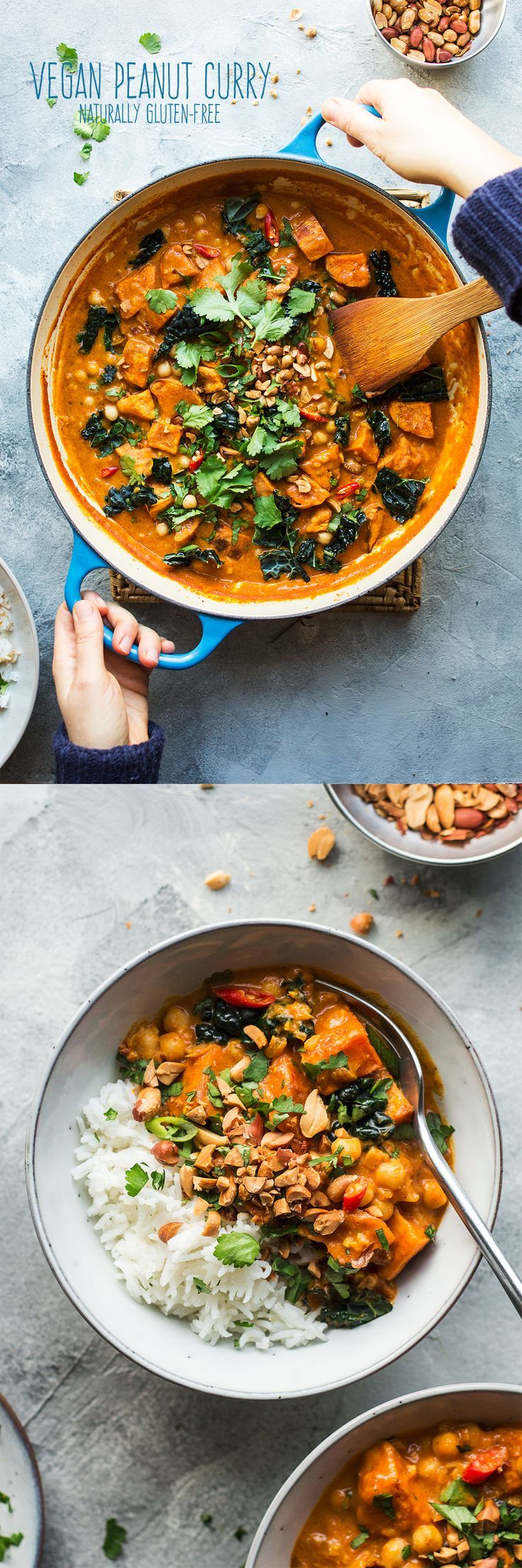 Vegan Peanut Curry With Sweet Potato