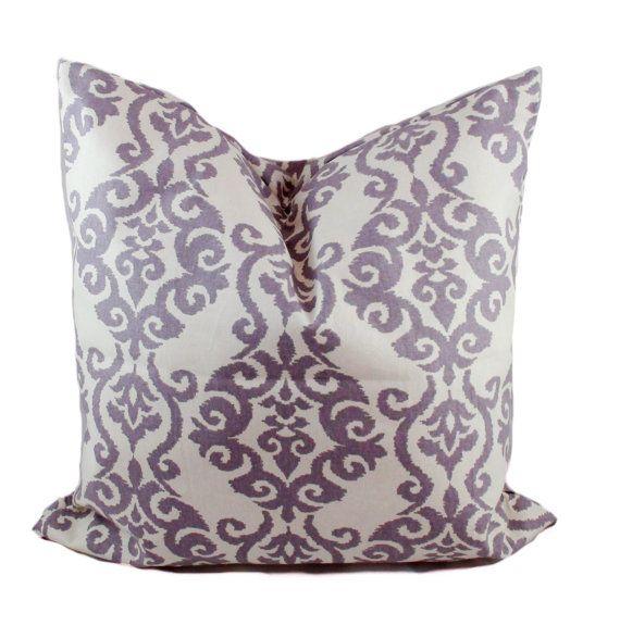 Purple Pillow Cover Purple Throw Pillow Decorative Pillows Sofa - Purple decorative bedroom pillows