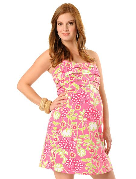ce9345b4e4 Lilly Pulitzer Pleated Maternity Swim Cover-up | Maternity Clothes ...