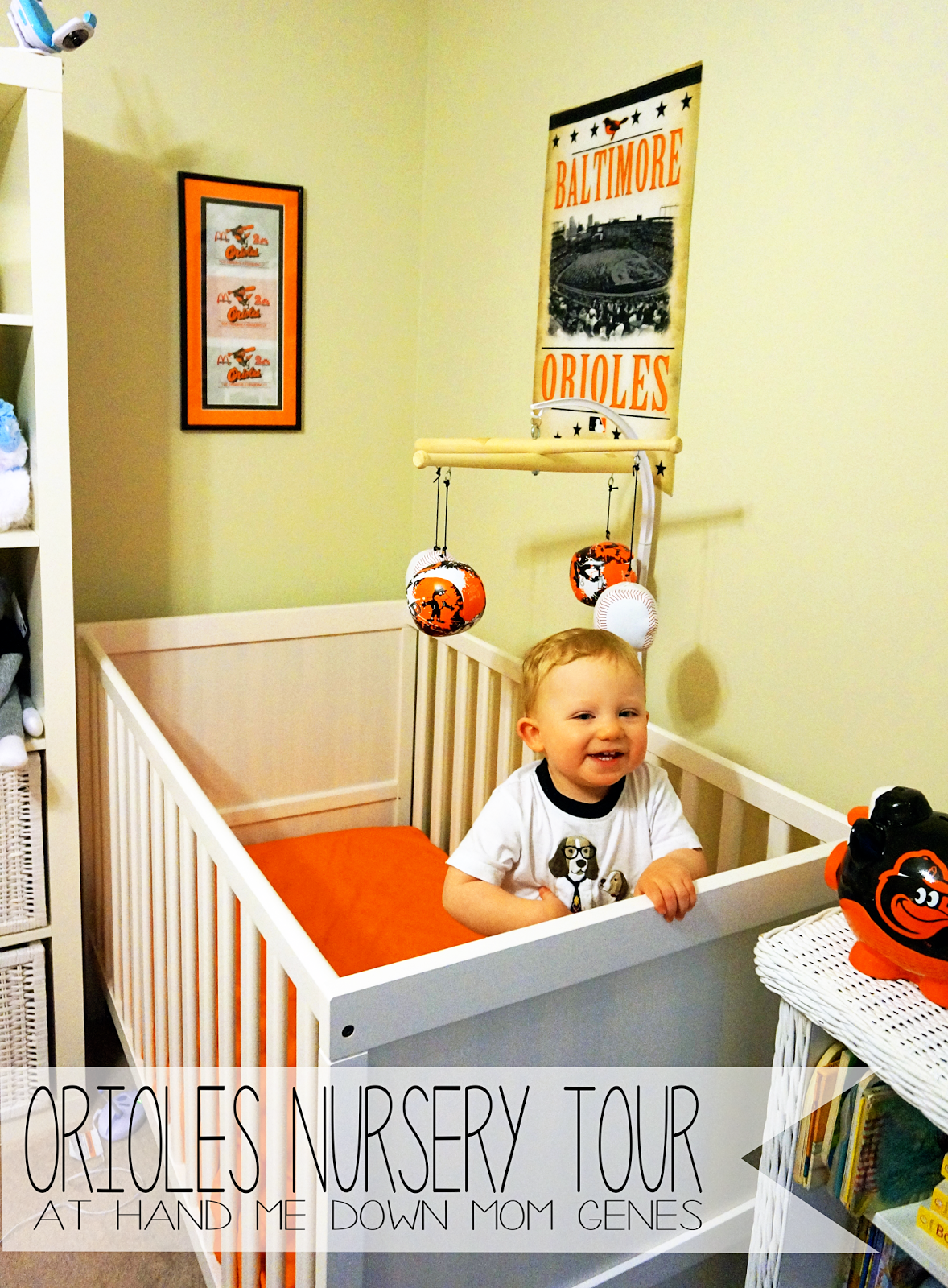 LOVE THIS- Maybe gray walls instead... Orioles Nursery Tour. The ...