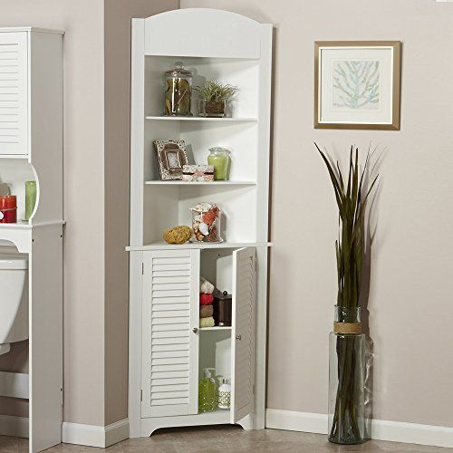 BTM Bathroom Storage Cabinet Shelves Corner Kitchen shelv...…