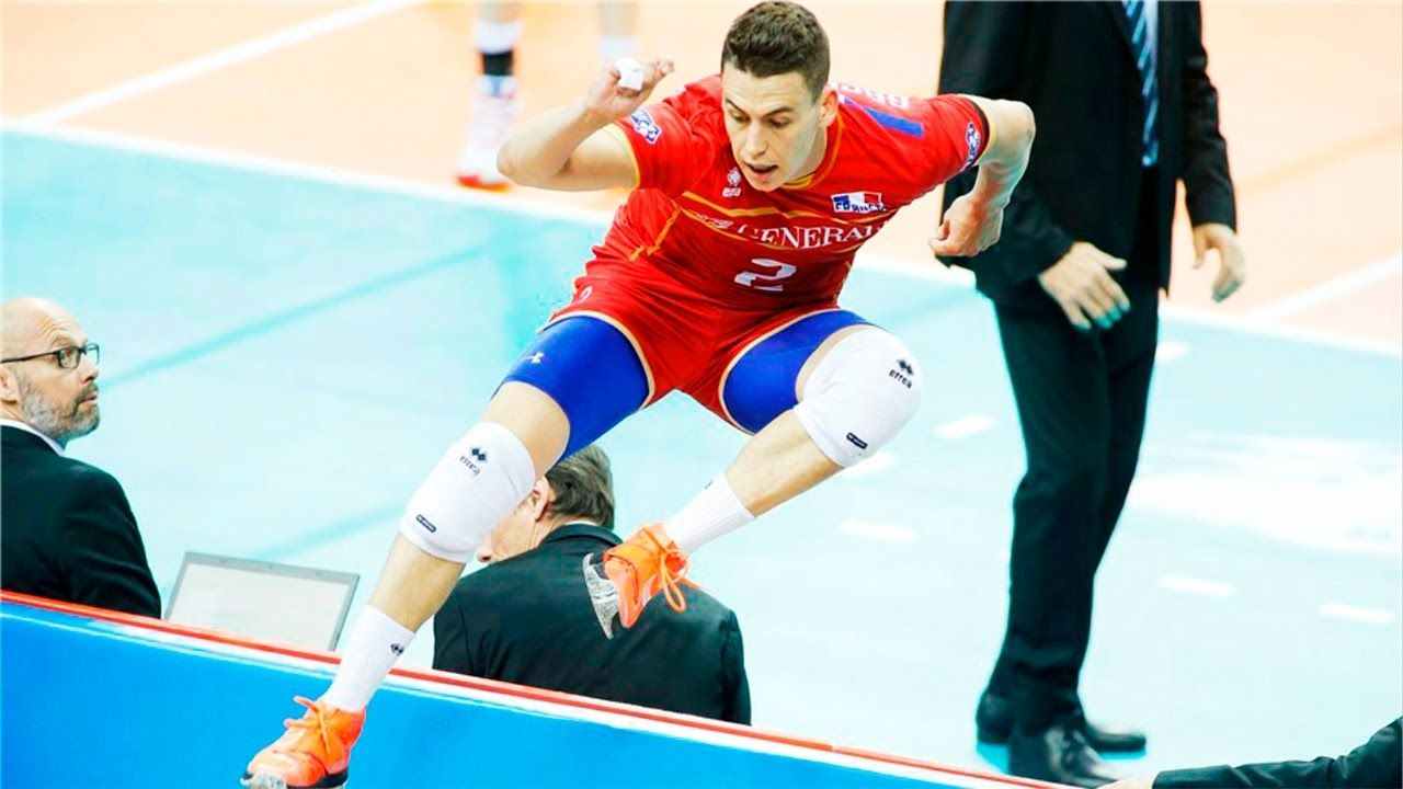Top 20 Crazy Actions By Jenia Grebennikov Pallavolo