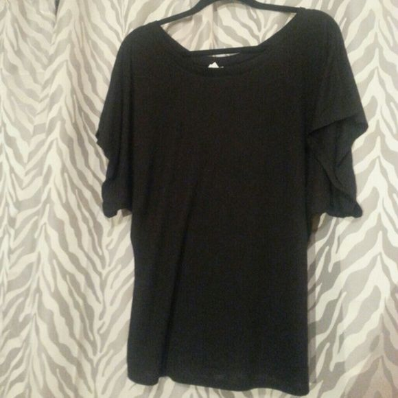 Black Dolman Top Very cute black dolman top,  brand new,  no tags size Medium Tops