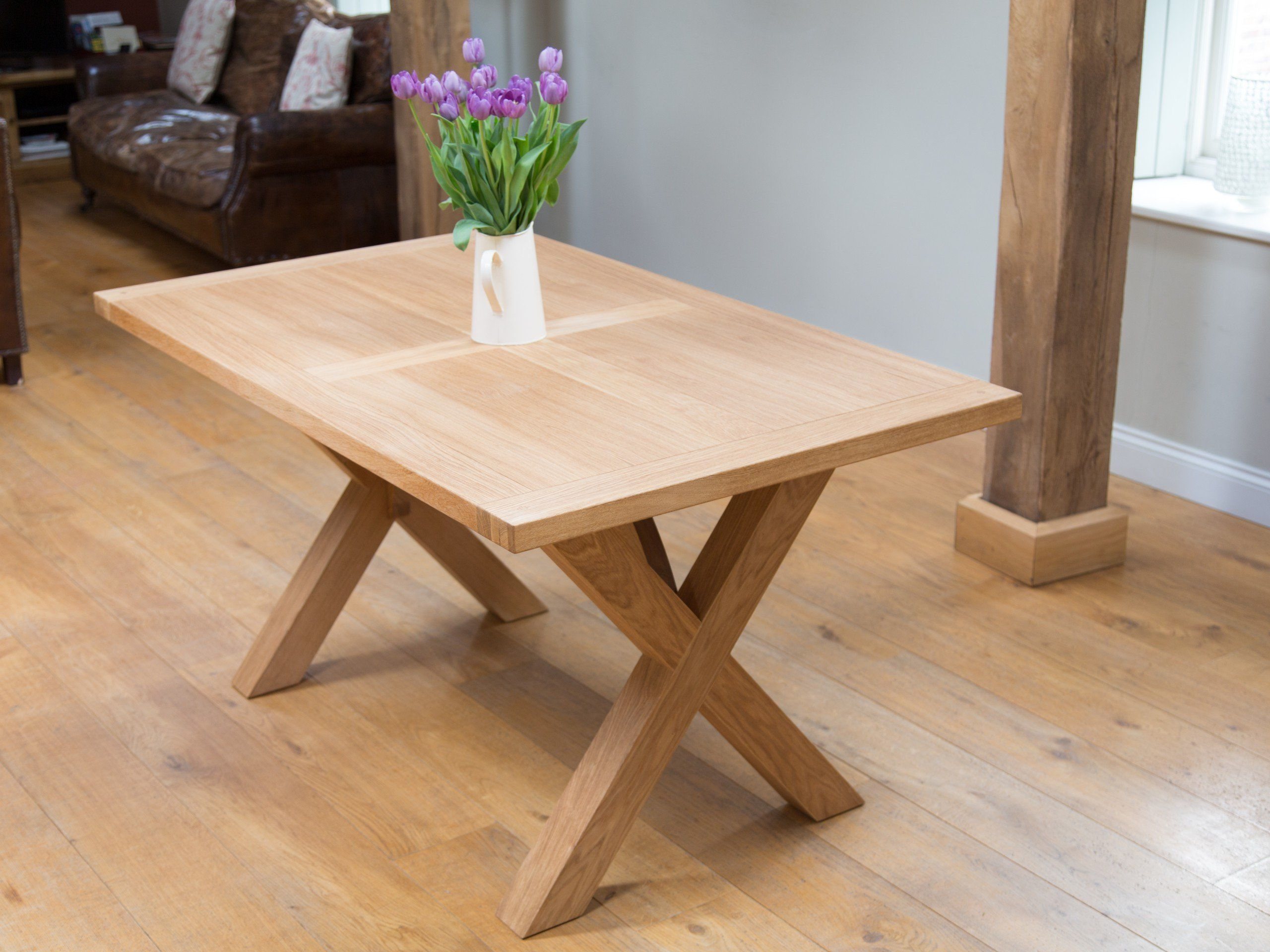 High Quality Provence 1.3m To 1.8m Cross Leg Extending Oak Table Oval End | Dining Tables  | Pinterest | Provence, Oak Dining Table And Legs