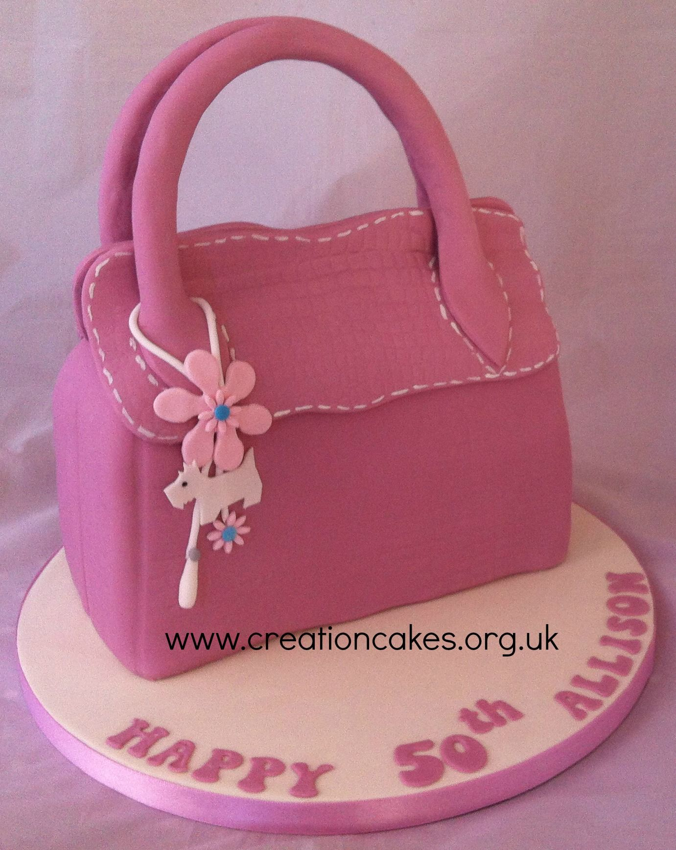 Pink Radley Handbag Birthday Cake 70th 50th Fancy Cakes