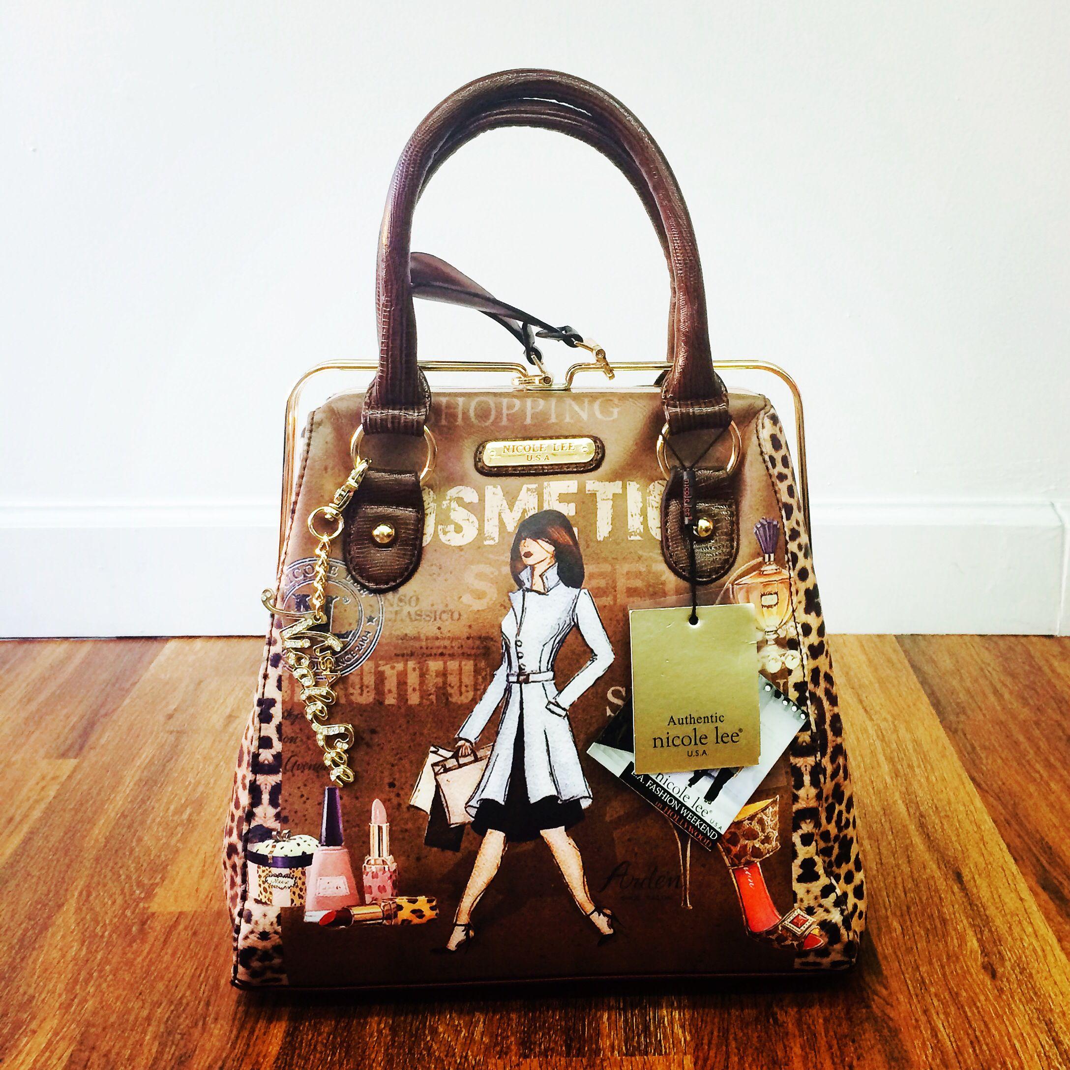 561c9dda38 Cosmetic Nicole Lee Handbag