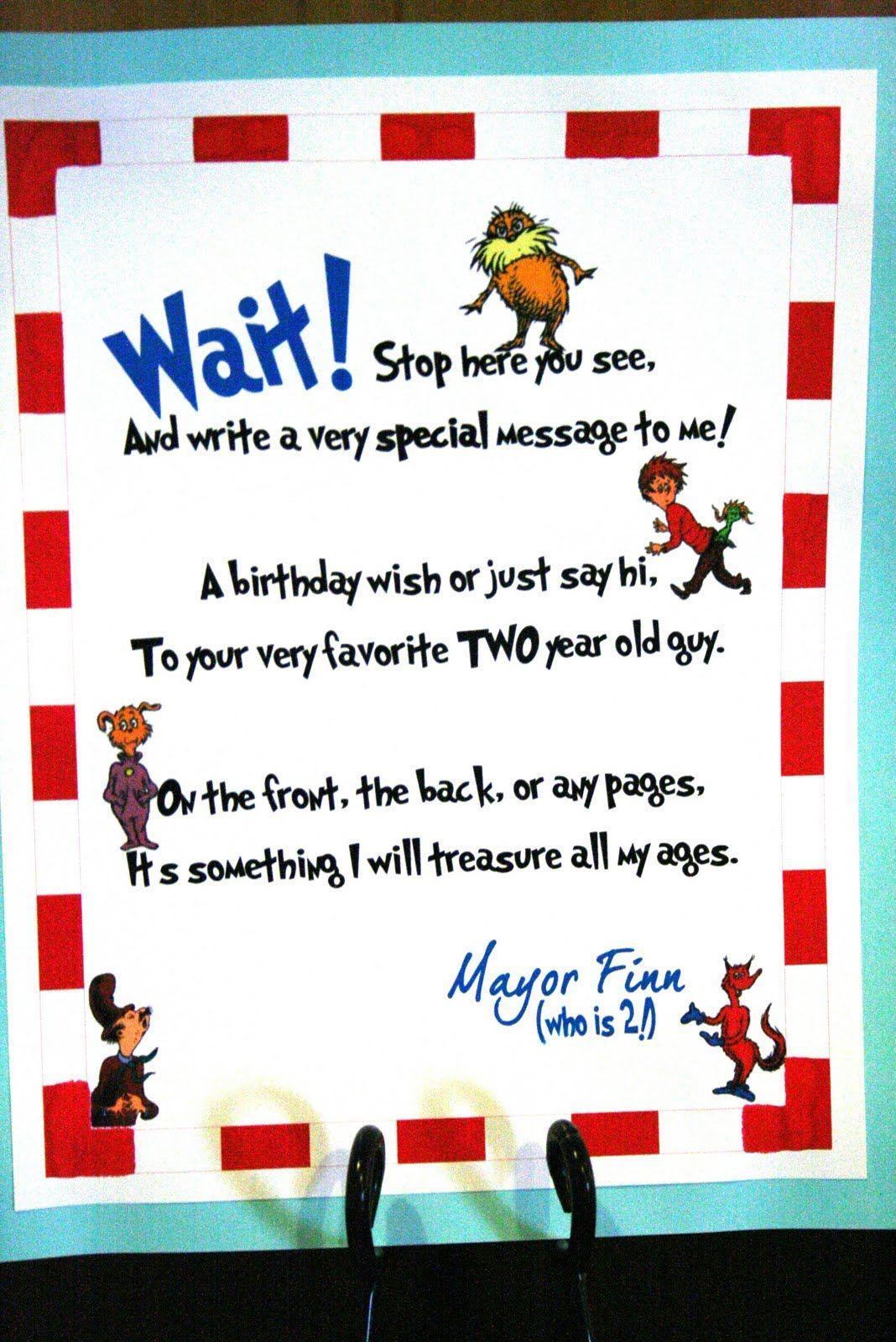 happy birthday to you dr seuss book pdf