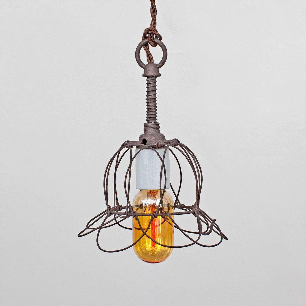 Fab trouble pendant tulip cageflea market rx home