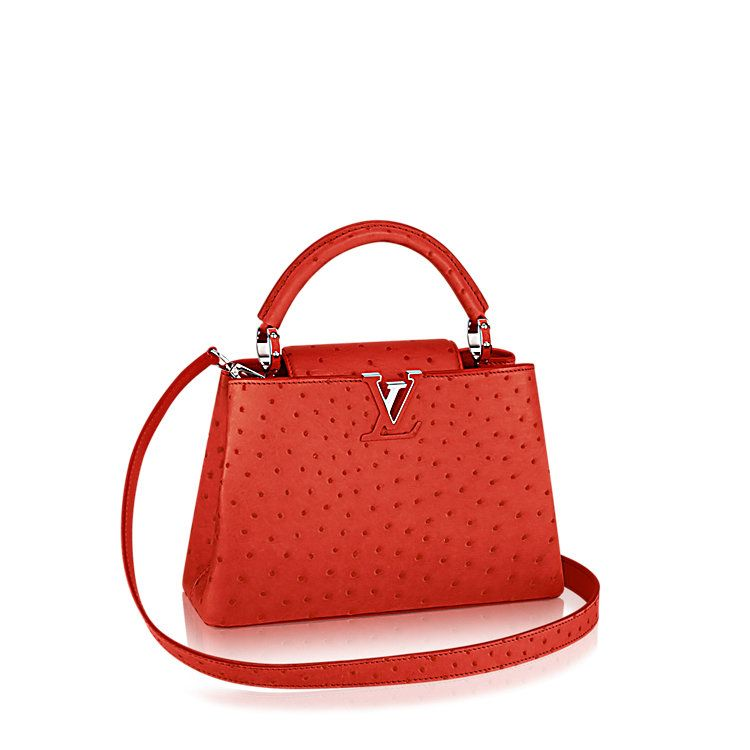 Discover Louis Vuitton Capucines Bb Taking Its Name From The Rue Des In Paris