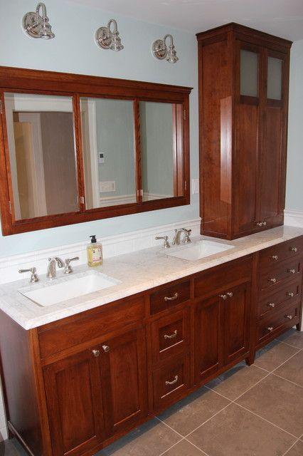 Bathroom Vanity Hutch Cabinets