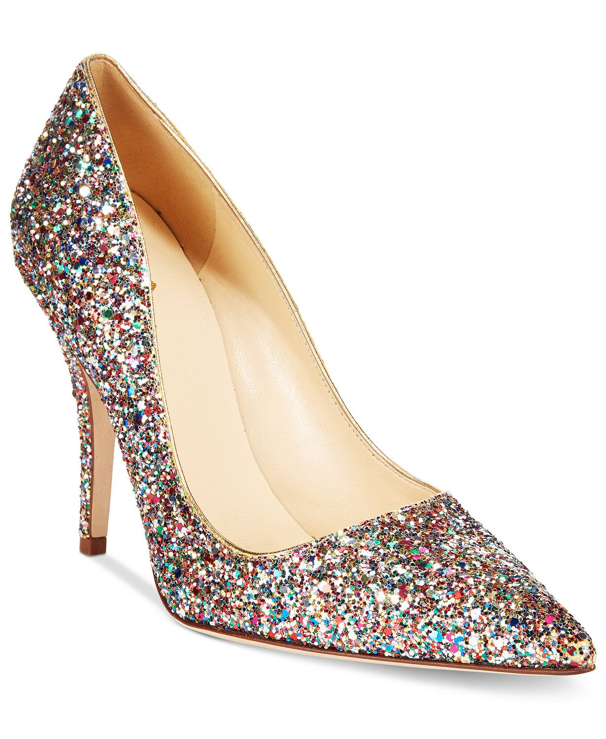 b7b38bec81c7 kate spade new york Licorice Too Multicolor Glitter Pumps