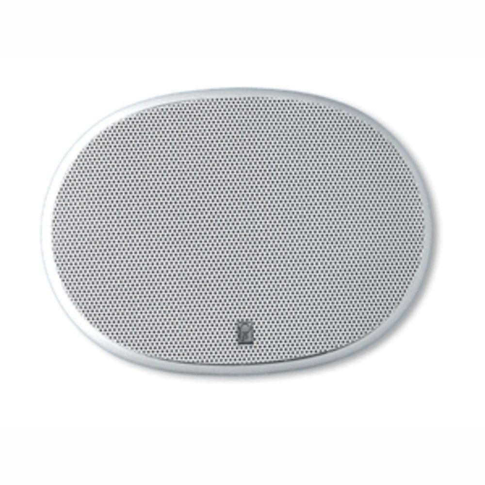 PolyPlanar 6 x 9 3-Way Platinum Oval Marine Speaker - (Pair) White. 6 x 9 Platinum OvalPart Number: MA-6900   Performance advantage. The MA-6900 three-way speaker is designed to deliver your favorite music with a peak power capability of 400W/pair.Features Available in White only 3-way design with mylar tweeter & midrange Rugged powder coated stainless steel grill Waterproof design Colorfast plastic frame withstands UV rays Specifications Peak Power:  400W/pair Continuous Power:  100W…