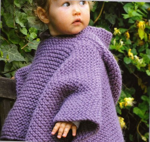 Knit Poncho Idea Knitting Crotcheting Pinterest Ponchos