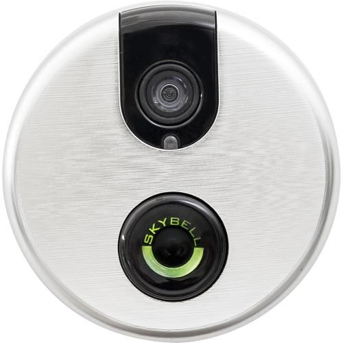 Best Buy: SkyBell Wi-Fi Video Doorbell Silver SB100W ...