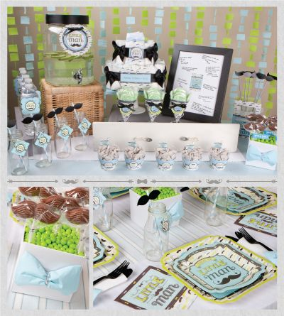 Dashing Little Man Baby Shower Theme Is A Unique Way To Celebrate A New  Little Boy