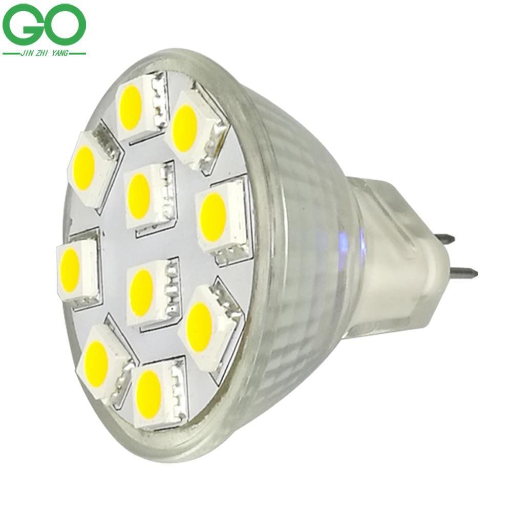 Mr11 Gu4 Led Spotlight 12v 2w Dimmable Bombillas Led Spot Light 10