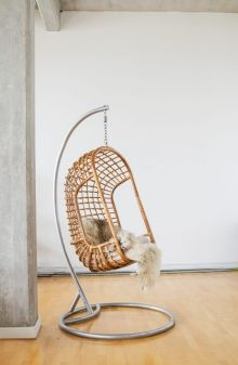 Hanging Chair The Classic Dark Rattan. Shipping Worldwide. Http://www.
