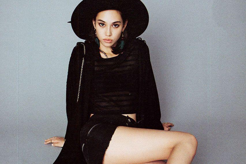 Kiko Mizuhara Goes Monochromatic for 'Gina' Magazine's October Issue