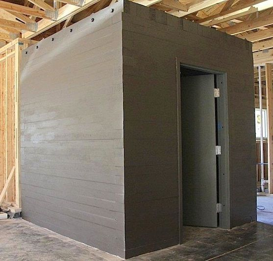 Stormdefend above ground storm shelters installed for Hidden storm shelter