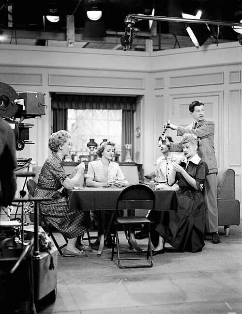On The Set Of I Love Lucy I Love Lucy Love Lucy I Love