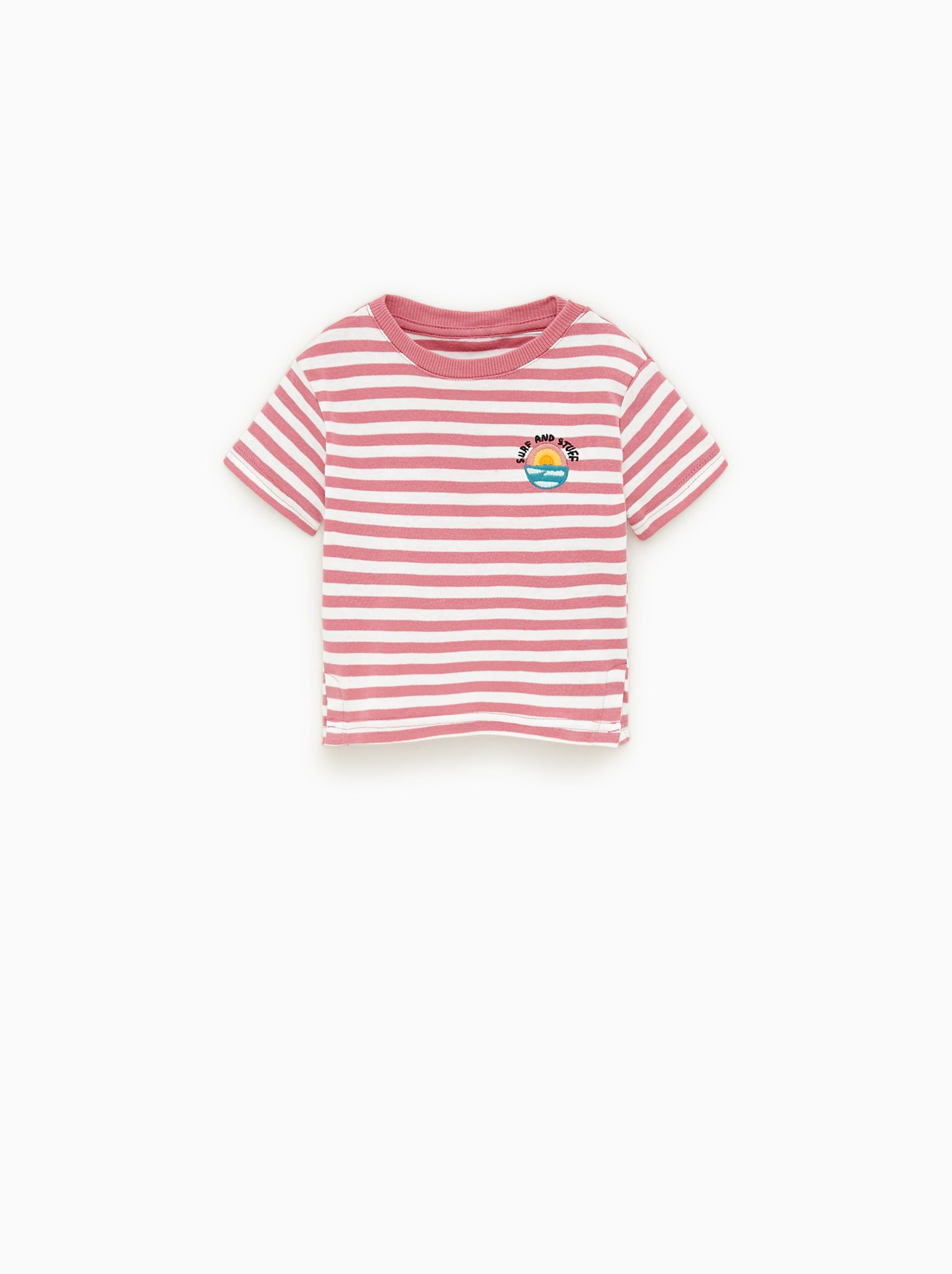Camiseta Rayas Bolsillo Disponible En Mas Colores Camisetas De
