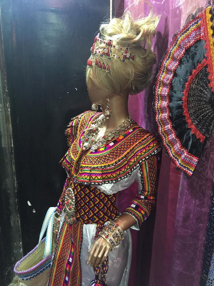 Robe Kabyle en 2019 | Robe kabyle moderne, Robe et Bijoux ...
