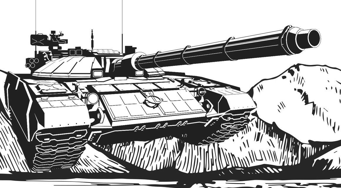 Best tanks coloring book for teenagers and adults