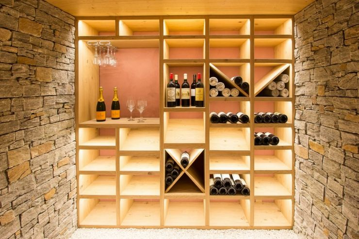 ancienne maison r nov e au bord du lac d annecy cave wine cellars and cellar design. Black Bedroom Furniture Sets. Home Design Ideas