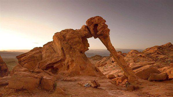 Fenómenos naturales que crean esculturas oníricas