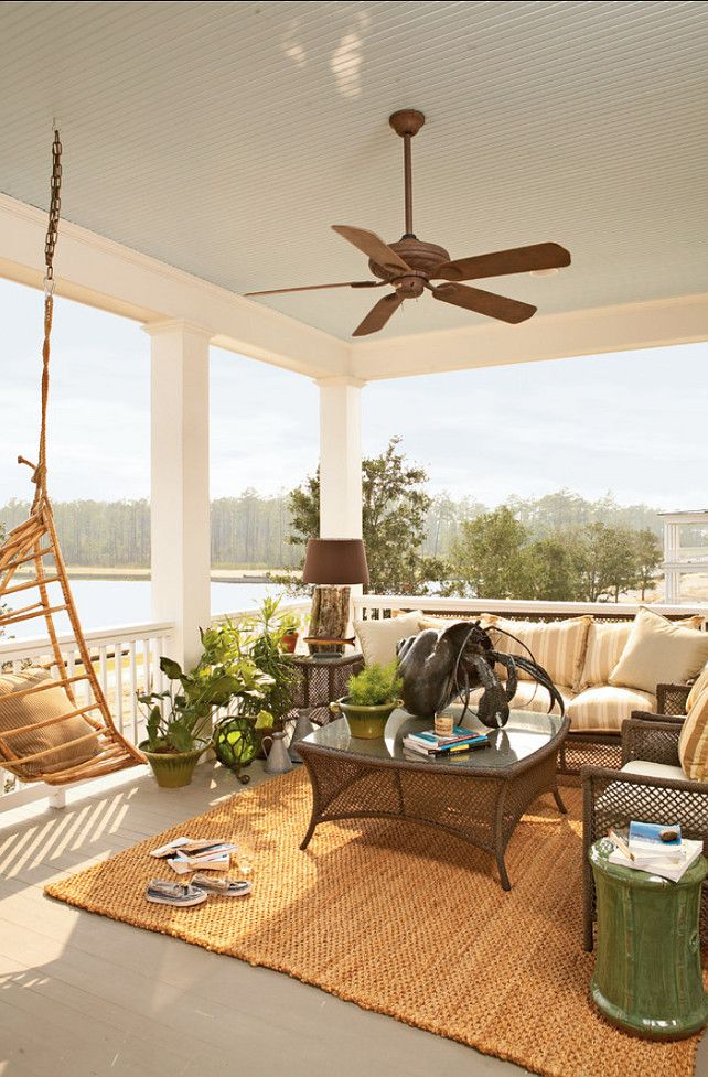 A place to celebrate summer ~ Coastal Porch