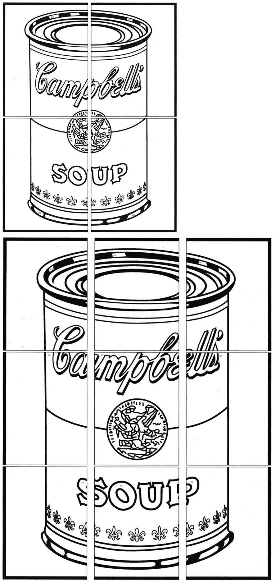 Campbell S Soup Can Art Projects For Kids Andy Warhol Pop Art Pop Art For Kids Warhol Art