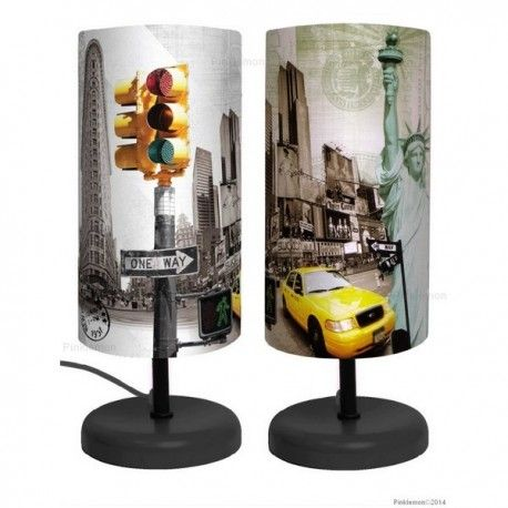 Lampe De Chevet New York Noel Lulas Pinterest