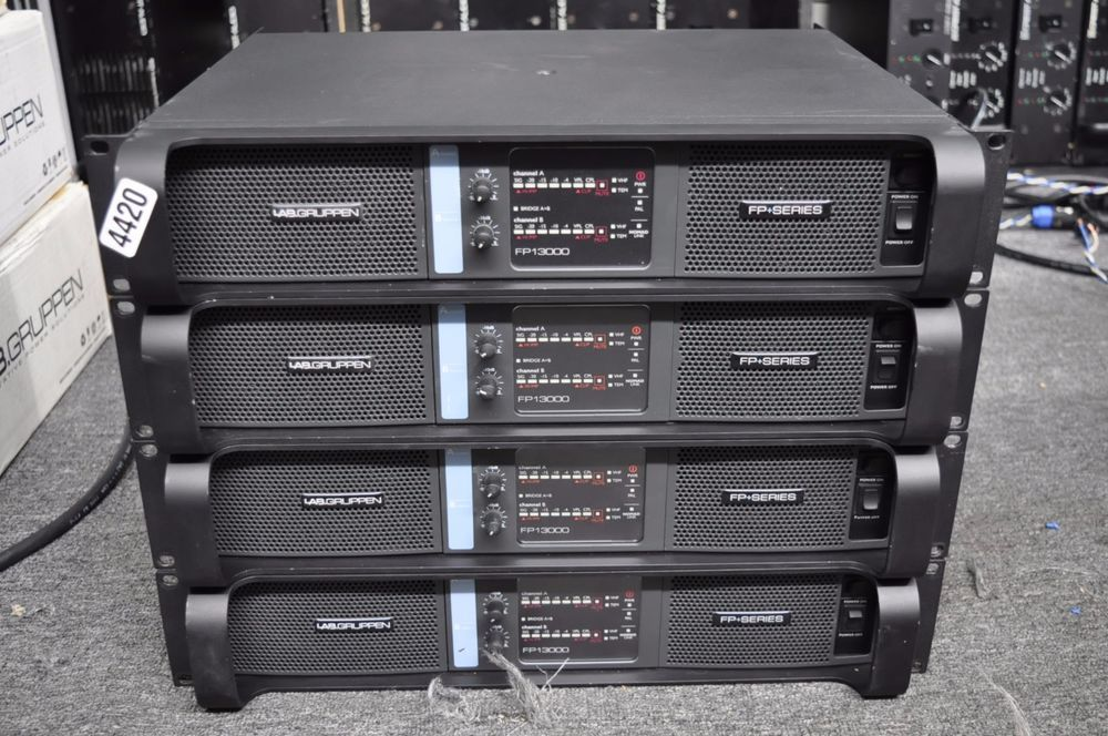 Lab Gruppen Fp Series Fp13000 Professional Power Amplifier One Power Amplifiers Amplifier Power