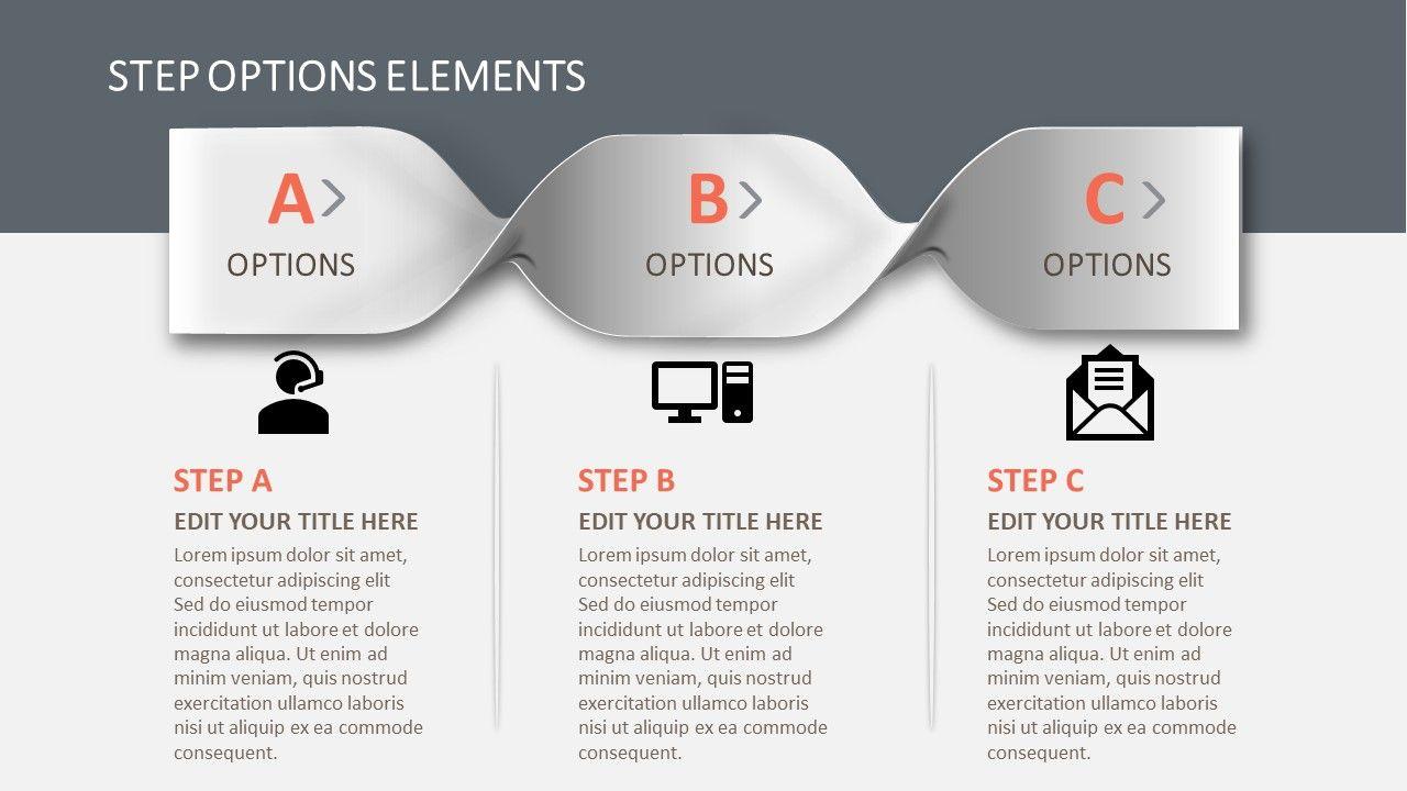 3 Steps Braid Powerpoint Diagram Slidemodel Powerpoint Slide Designs Powerpoint Powerpoint Design