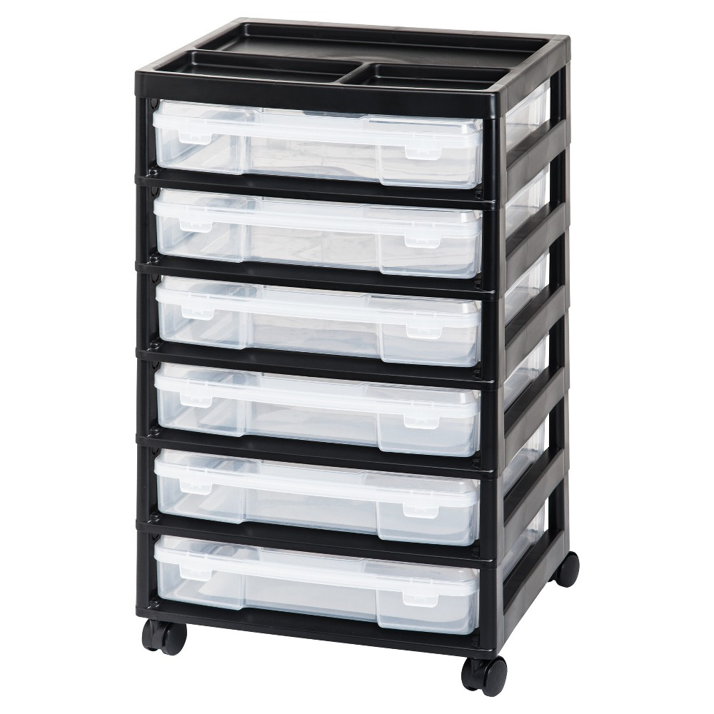 Iris 6 Case Scrapbook Cart Scrapbook Storage Plastic Storage Drawers Craft Room