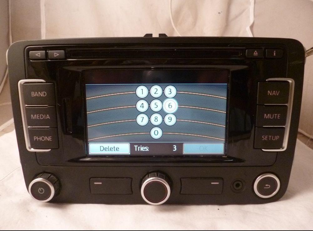 12 13 VW Volkswagon Jetta Passat Golf Radio Gps Navigation RNS-315