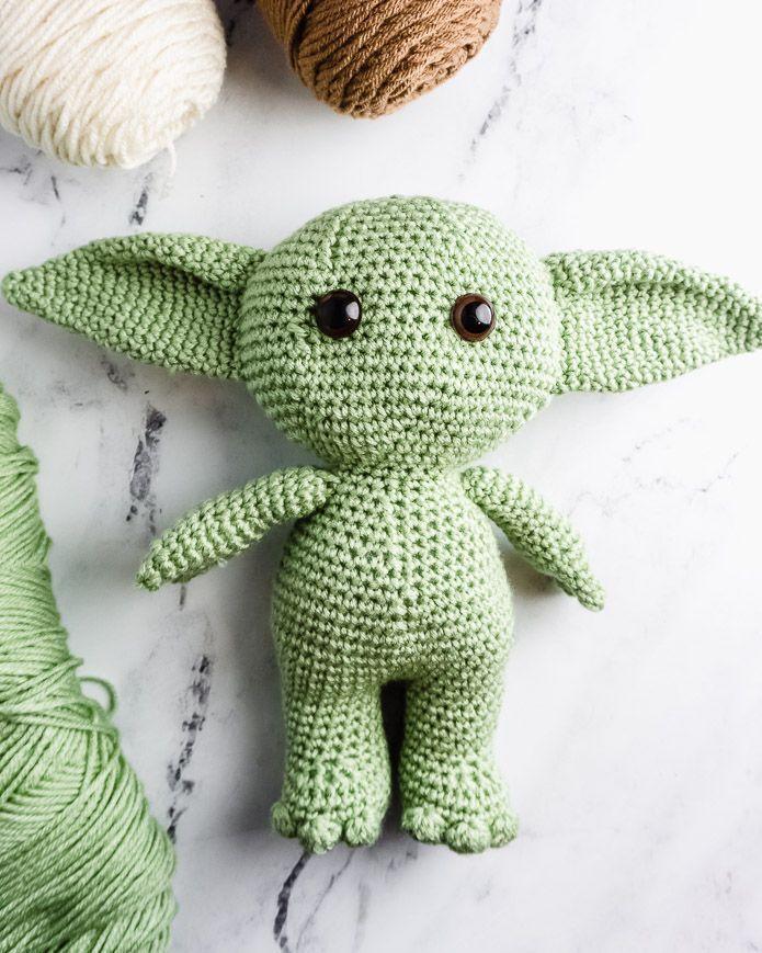 Photo of Wie man Baby Yoda häkelt – ein kostenloses Amigurumi-Muster # Winterhäkeln …