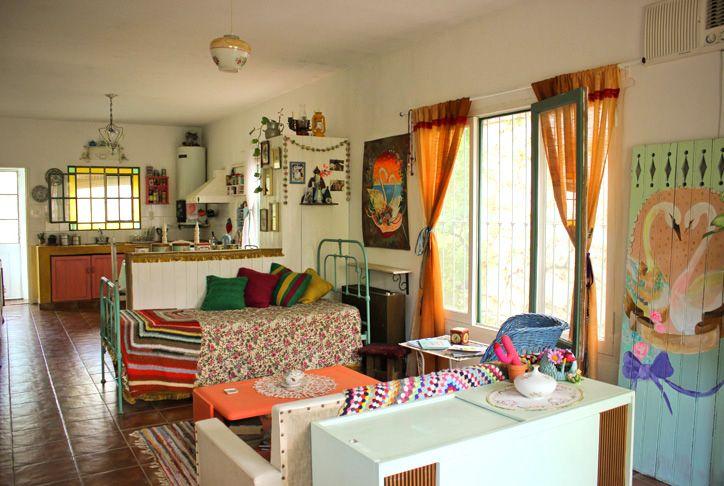 Keltainen talo rannalla: Koteja ja inspiraatiota