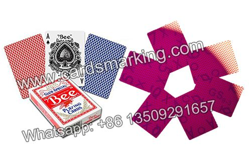 20bcf4fdb204 Bee marked cards are particularly popular for poker players or magicians in  USA. We offer you high quality marked deck playing cards with marked cards  ...
