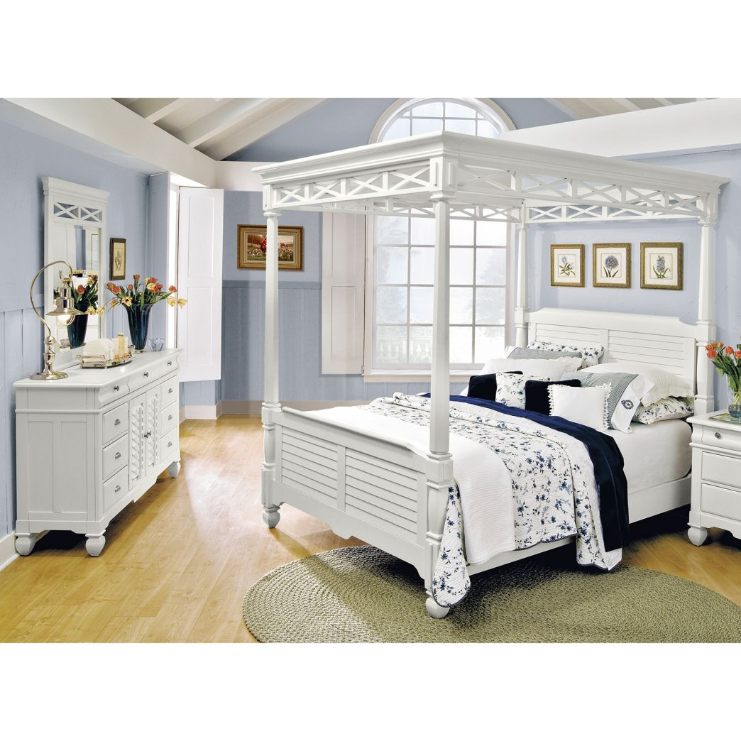 white canopy bedroom set decoration ideas for bedrooms check more at http - Gray Canopy Decoration