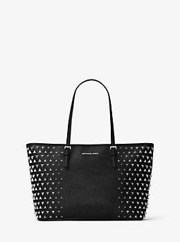 543c43910d86 Jet Set Pyramid Medium Leather Tote by Michael Kors | Bag Lady ...