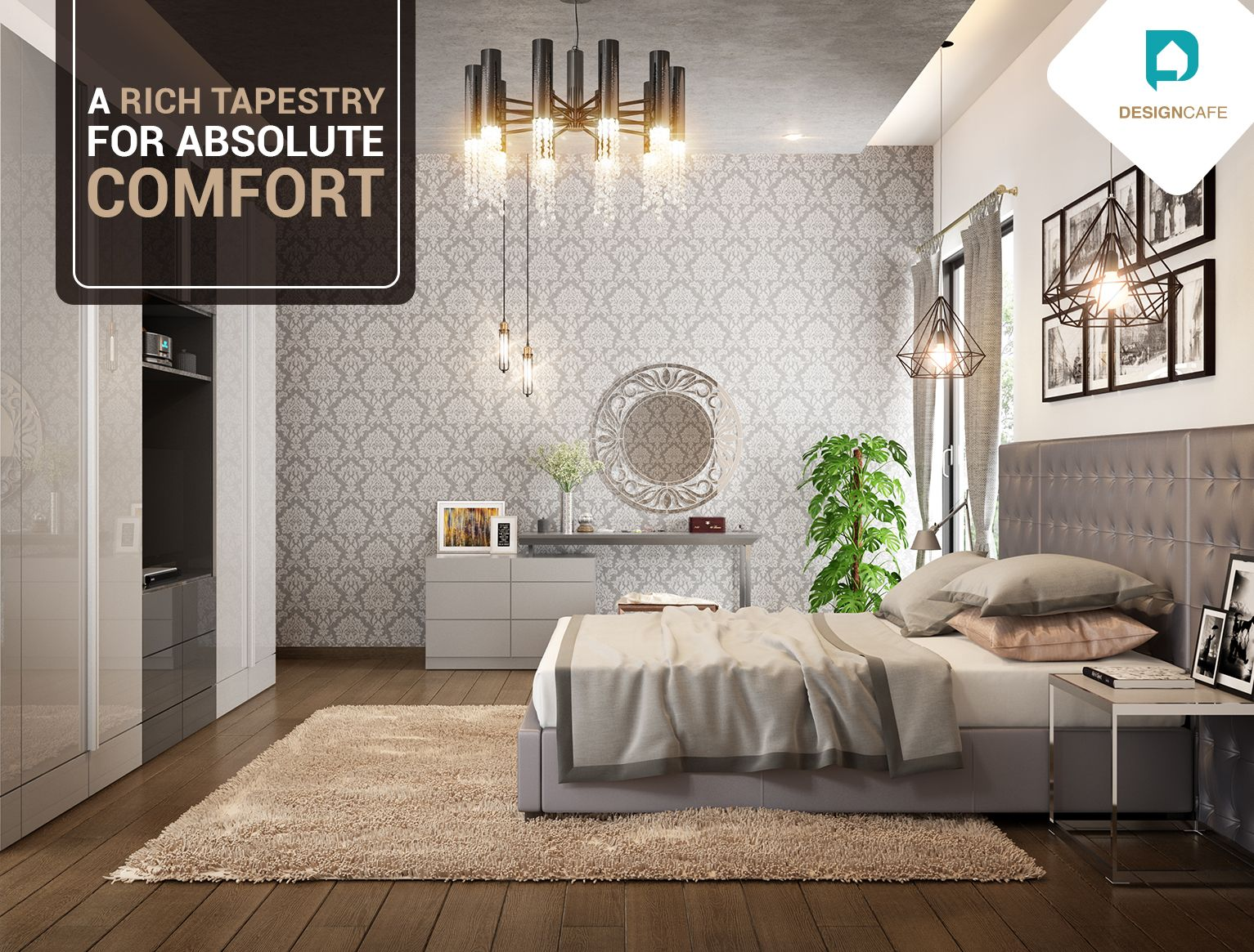 Simple, relaxed yet textured and rich, this juxtaposing of styles is  exactly how you are. Classic yet elega… | Bedroom design, Interior design,  Modern style bedroom