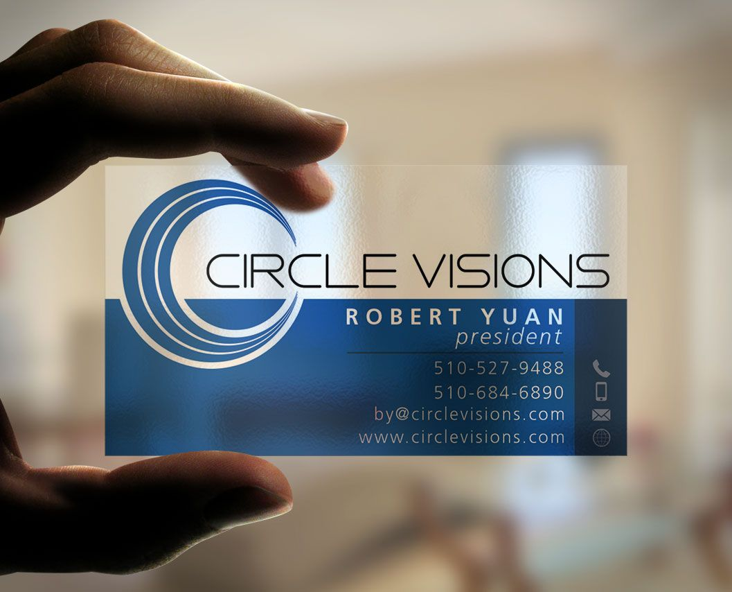 Circle Visions business card | 99designs