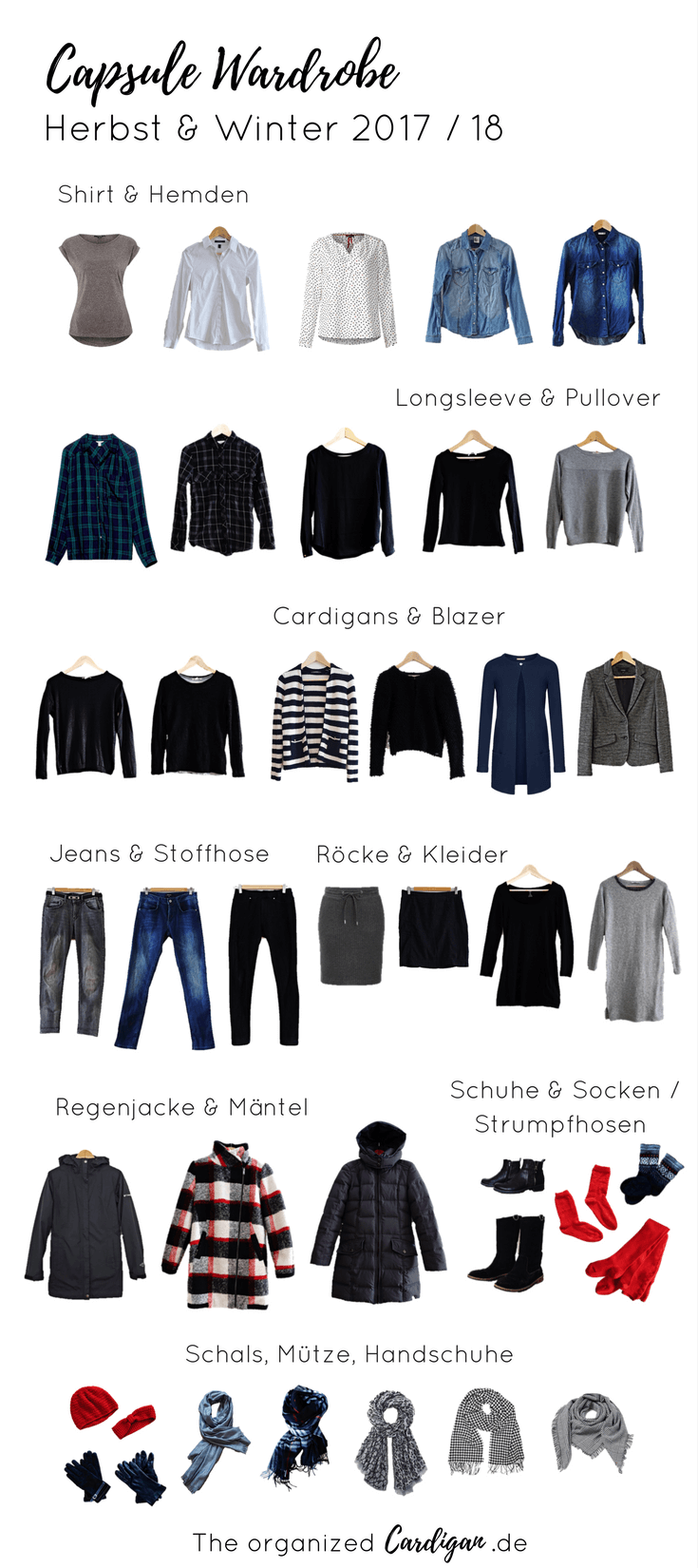 Herbst & Winter Capsule Wardrobe 2018 / 2019