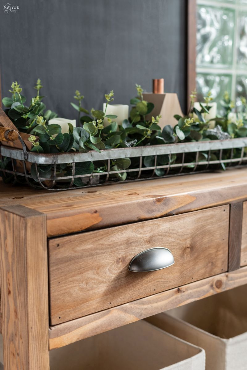 Diy Rustic Console Table With Free